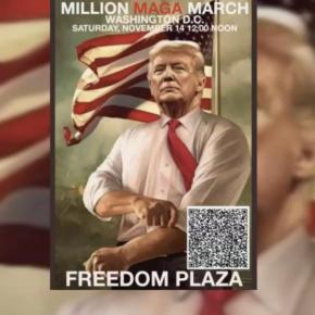#MillionMAGAMarch 城下一聚 特朗普支持者發起百萬人大集會聚首華府圖突破社交媒體禁聲